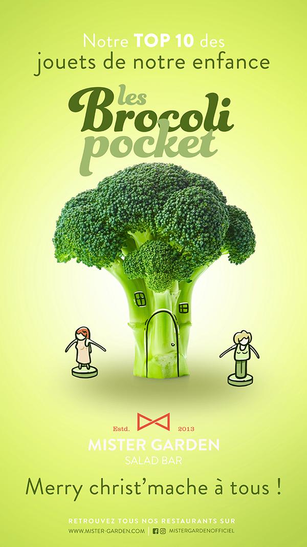 les brocoli pocket
