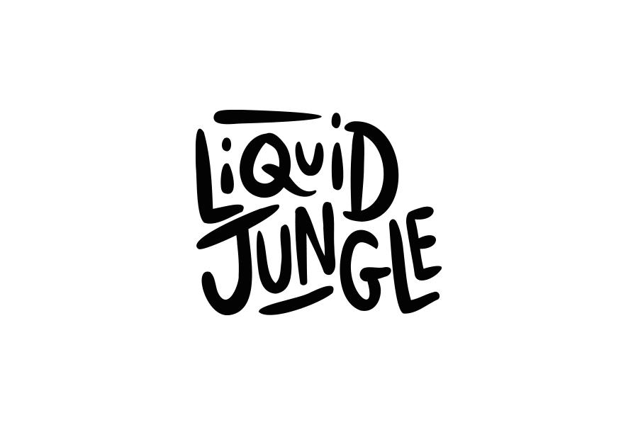 Logo liquid jungle Tristan barbier